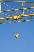 Yellow Crane — Stock Photo