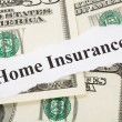 Home Insurance — Lizenzfreies Foto