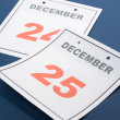 Stock Photo: Calendar Day Christmas