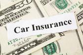 Auto pojištění — Stock fotografie