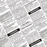 Classified Ad — Stock Photo