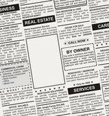 Anúncio imobiliário — Foto Stock