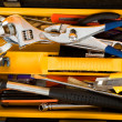 Yellow Toolbox - Stock Photo