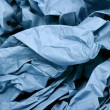 Blue Paper — Stock Photo