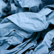 Stock Photo: Blue Paper