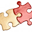 Golden Puzzle — Stock Photo #8044244