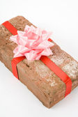 Prank gift — Stock Photo