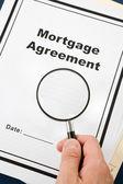 Mortgage Agreement — Stock Photo