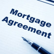 Mortgage Agreement — Stock Photo
