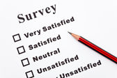 Survey — Zdjęcie stockowe