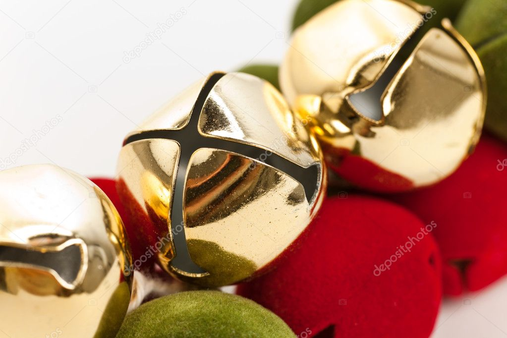Christmas Bells close up shot — Stock Photo #8179707