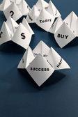 Paper Fortune Teller — Stock Photo