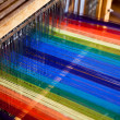 Loom weaving - Stock Photo