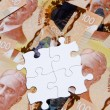 Dollar Puzzle — Stock Photo #8745983