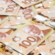 Canadian Dollar — Stock Photo