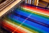 Loom weaving — Stock Photo