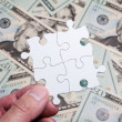 Dollar Puzzle — Stock Photo #8890517