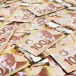 Canadian Dollar — Stock Photo #8890660