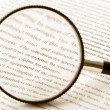 magnifying glass — Stock Photo #8891189