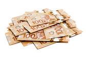Kanadensiska dollar — Stockfoto