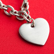 Chain and Heart Shape — Stock Photo #9001298