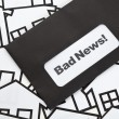 Royalty-Free Stock Photo: Bad News and Home Sign
