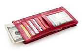 Red Wallet — Stock Photo