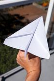 Paper Airplane — Stock Photo