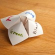 Paper Fortune Teller — Stock Photo