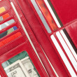 Red Wallet — Stock Photo #9153313