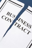 Cancel Business Contract — Stock Photo