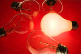 Bright Light Bulb — Stock Photo