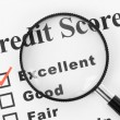 Good Credit Score — Stock Photo