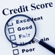 Credit Score — Stock Photo #9569374