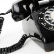 Black telephone — Stock Photo #9569676