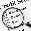 Credit Score — Stock Photo #9663385