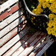 Stock Photo: Old Bench