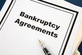 Bankruptcy Agreement — Stock Photo