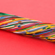 colorful cable — Stock Photo