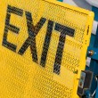 Exit Sign — Stock Photo #9925712