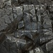Stock Photo: Weathered rock