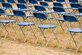 Folding Chair — Stock Photo