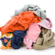 Dirty clothing — Foto de Stock