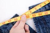 избыточный вес — Стоковое фото