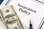 保险政策 — 图库照片