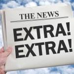 News Extra — Stock Photo