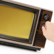 Television — Stock Photo