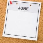 Blank Calendar — Stock Photo #9956847