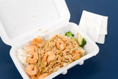 Chinese fast food — Stock Photo