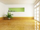 Interieur design scène — Stockfoto